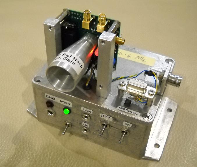 Kit built as a test beacon